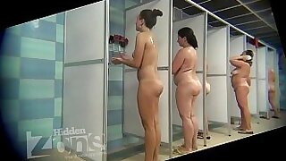 Nicole Heat does partnered sex in the shower Birthday Trying A Stranger