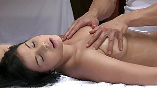 Massage orgasms of young boy