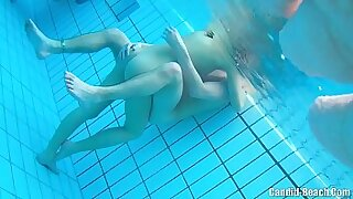 Nude married couple gone wild
