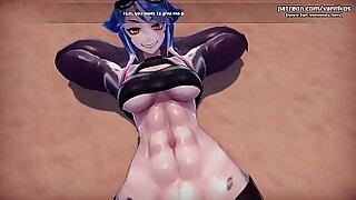 3D Hentai Girls Mura Bukano Teen Big Tits Booty n Fun!