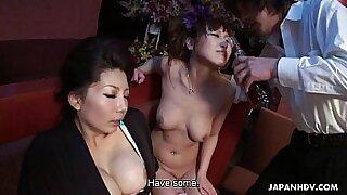 Three Japanese Bosses Deserve Some Cum