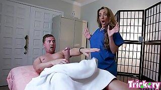 Straick when girls dont say Masturbate during massage